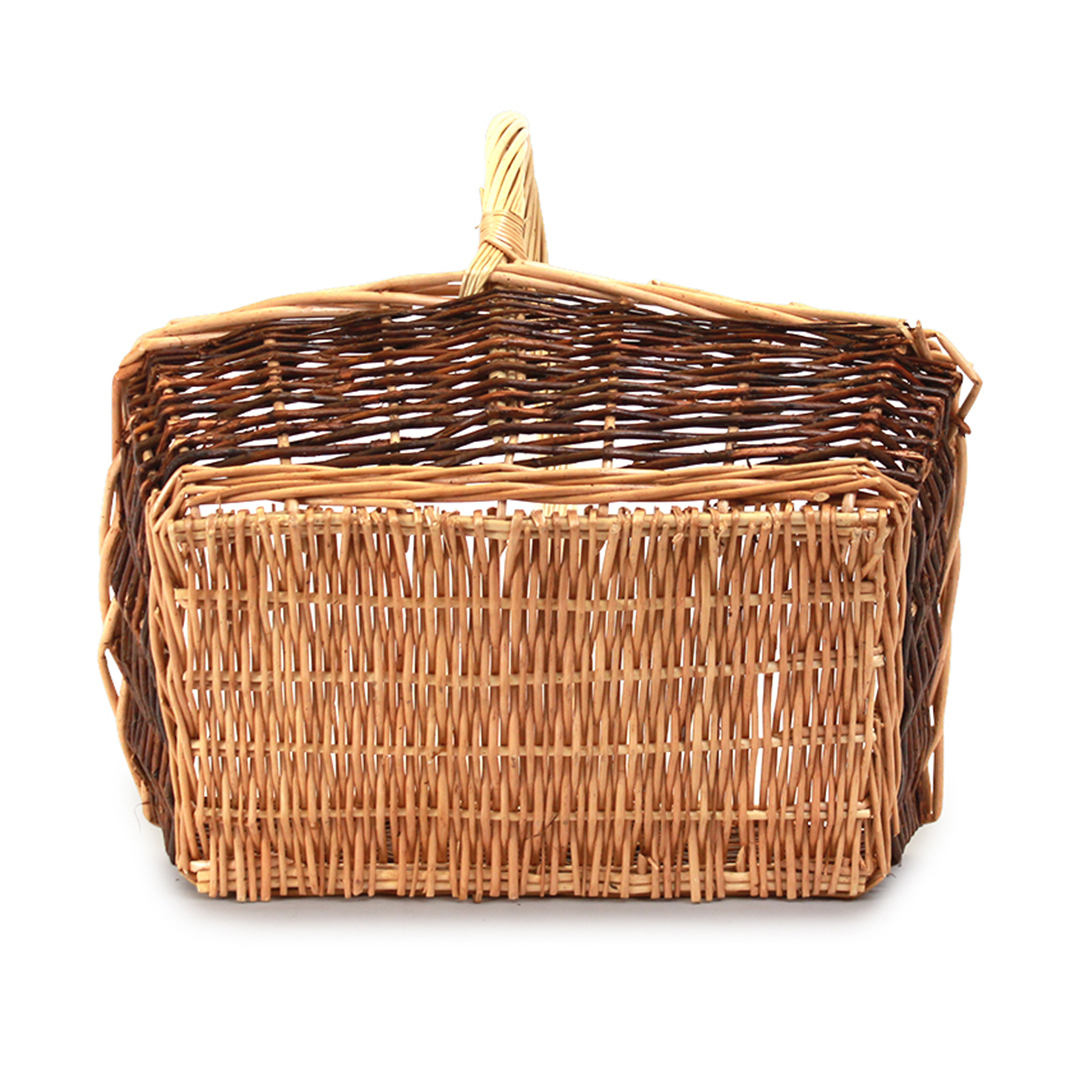 Rectangular Fruit Baskets With Handle back