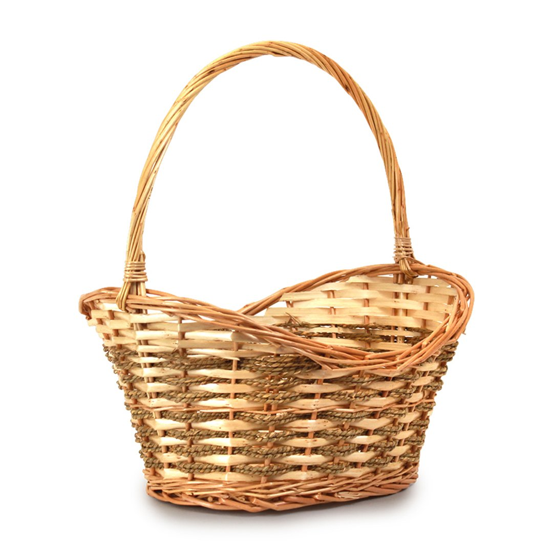 Baskets - Oval Brown side