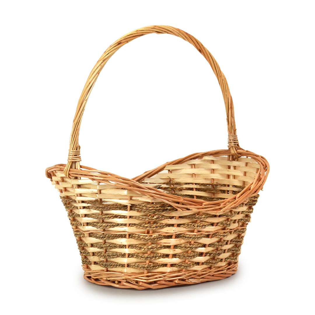 Baskets - Oval Brown side 2