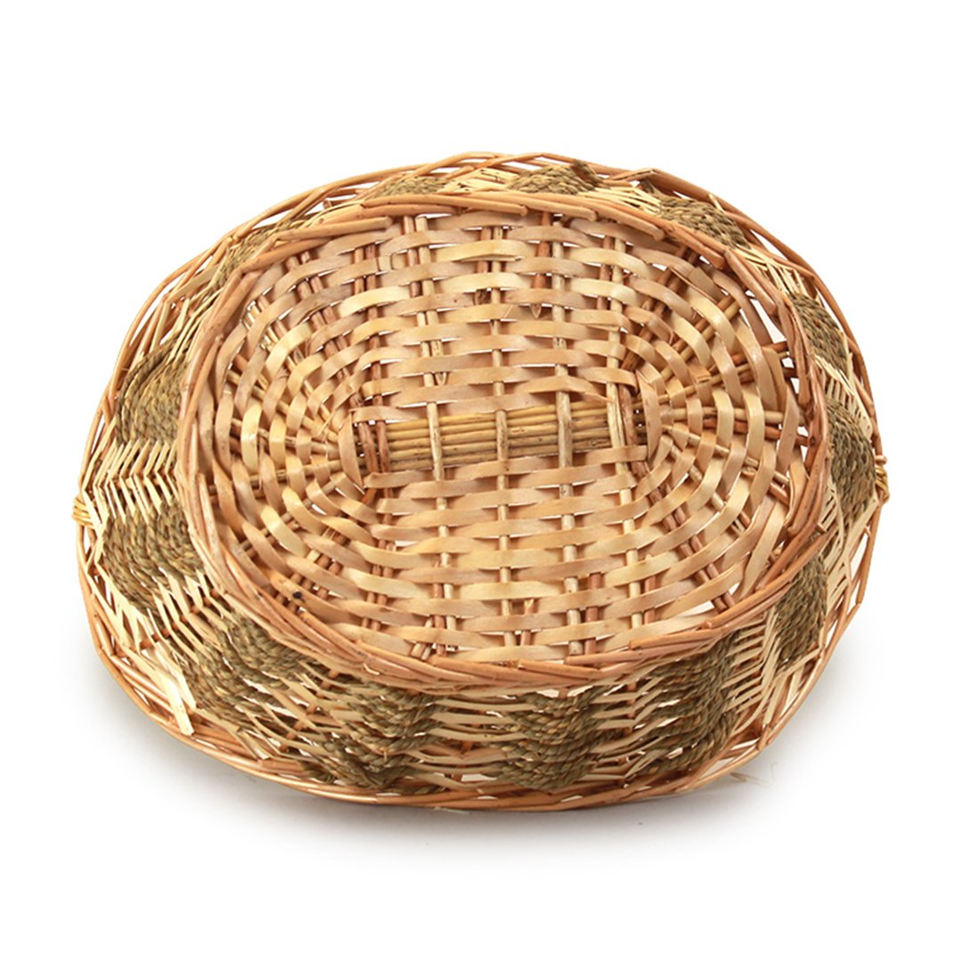 Baskets - Oval Brown Bottom