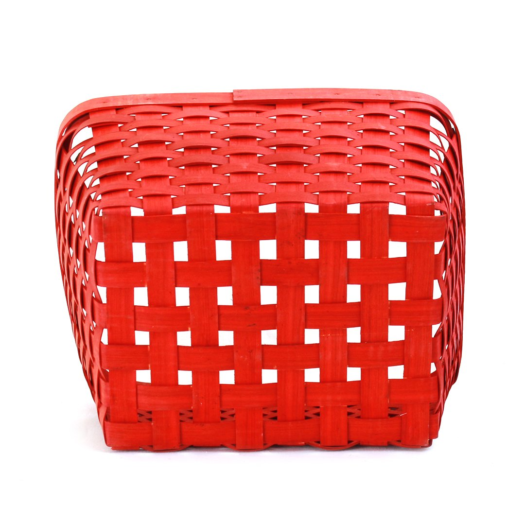 Red Rectangular Baskets bottom