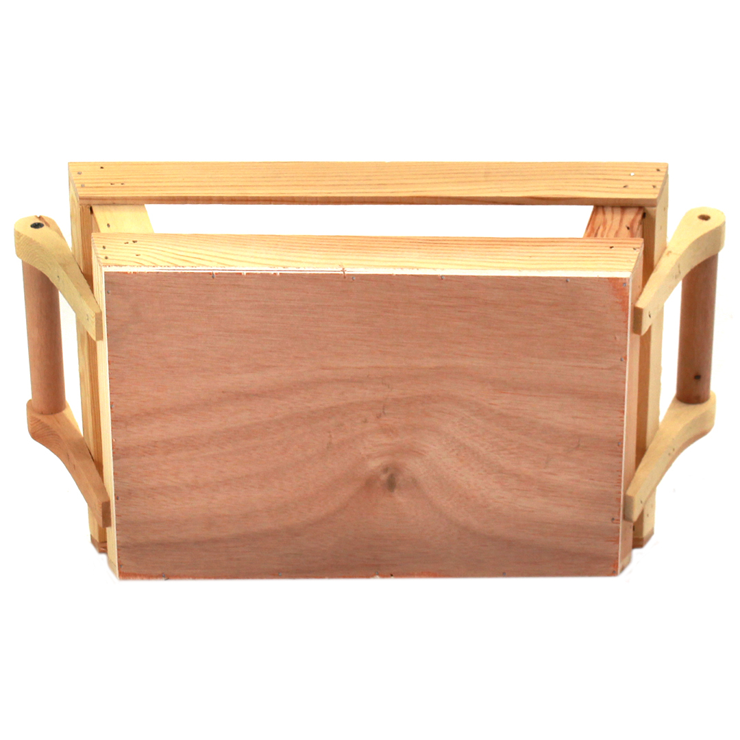 Rectangular Wood Baskets bottom