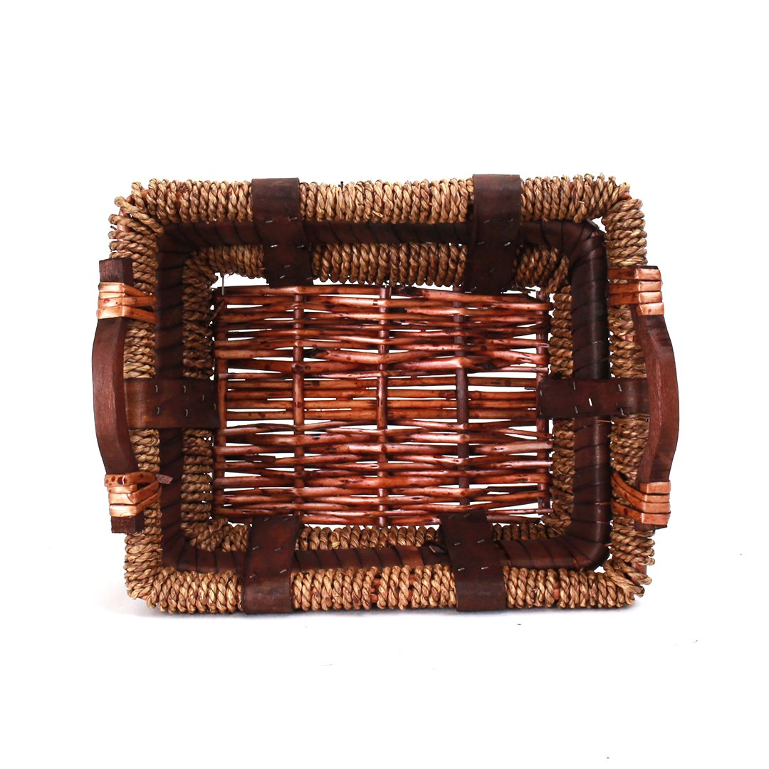 Rectangular Baskets With Handle top