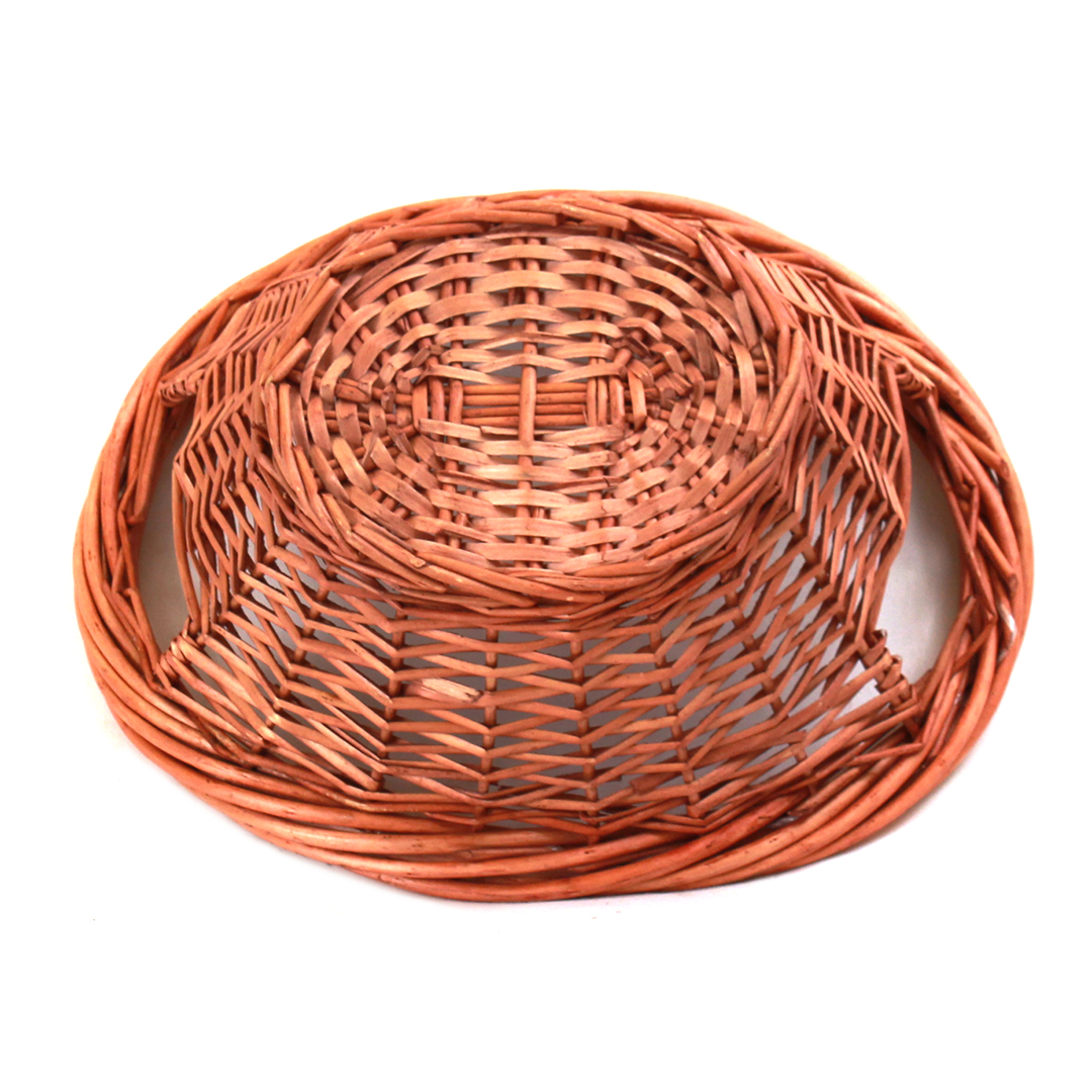Brown Oval Baskets bottom
