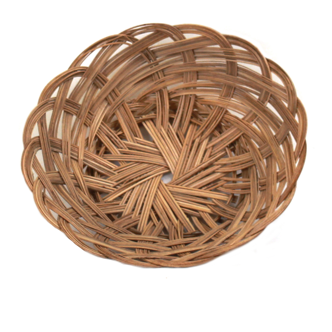 "Round Bread Basket 10"" x 2"" top"