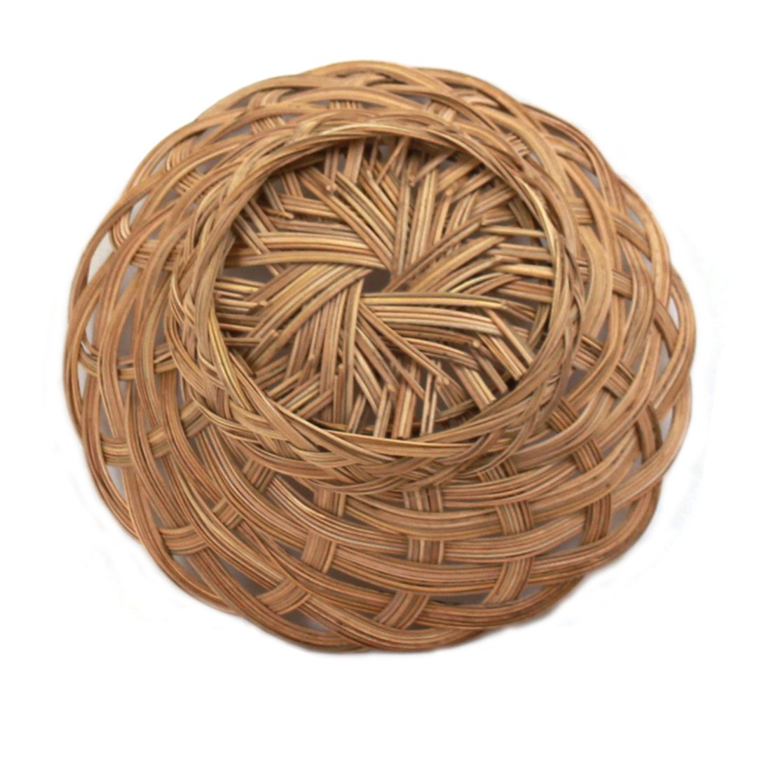 "Round Bread Basket 10"" x 2"" bottom"