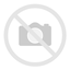 White Oval Metal Planter With Handles side