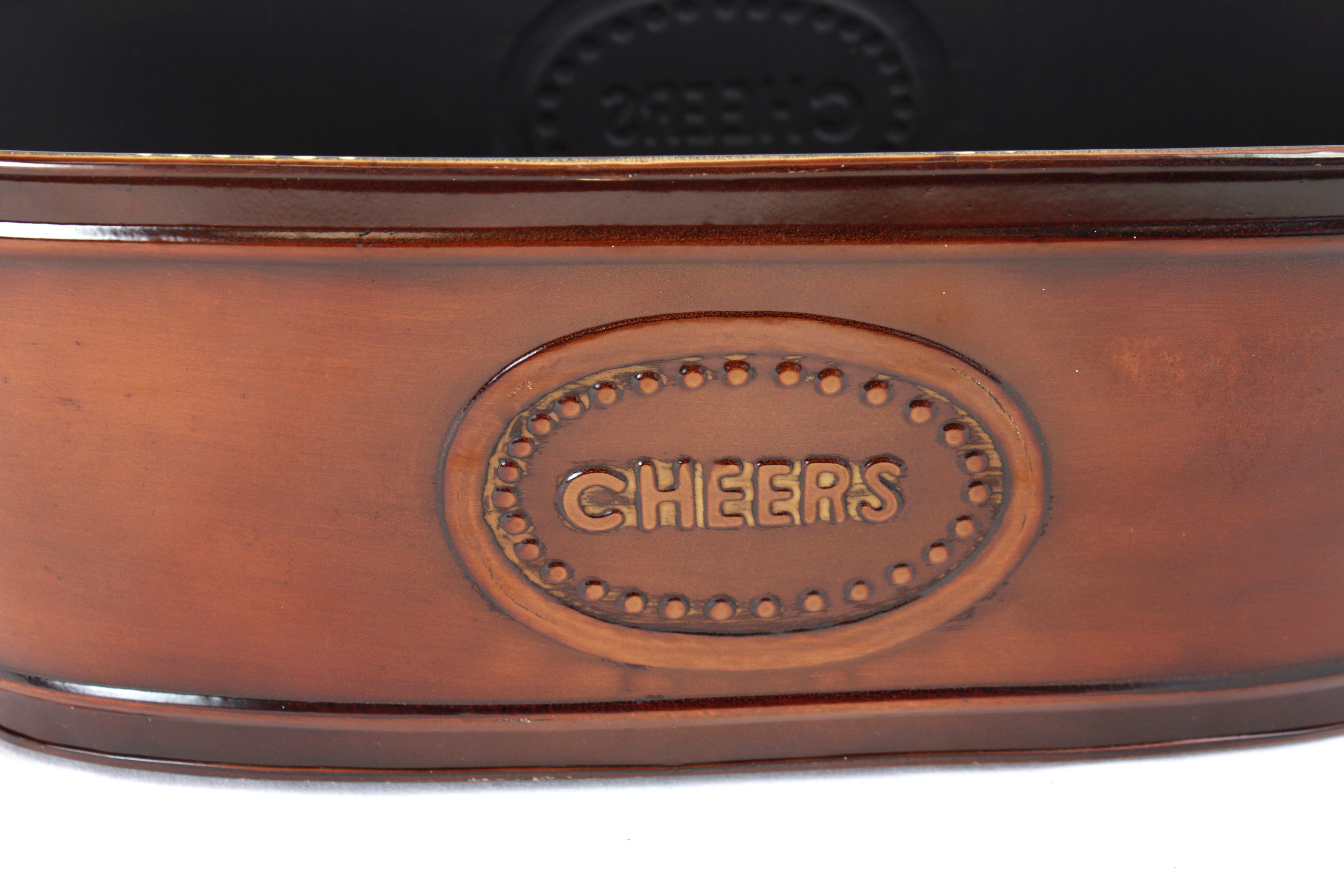 "Metal Containers With Handles ""Cheers"" close"