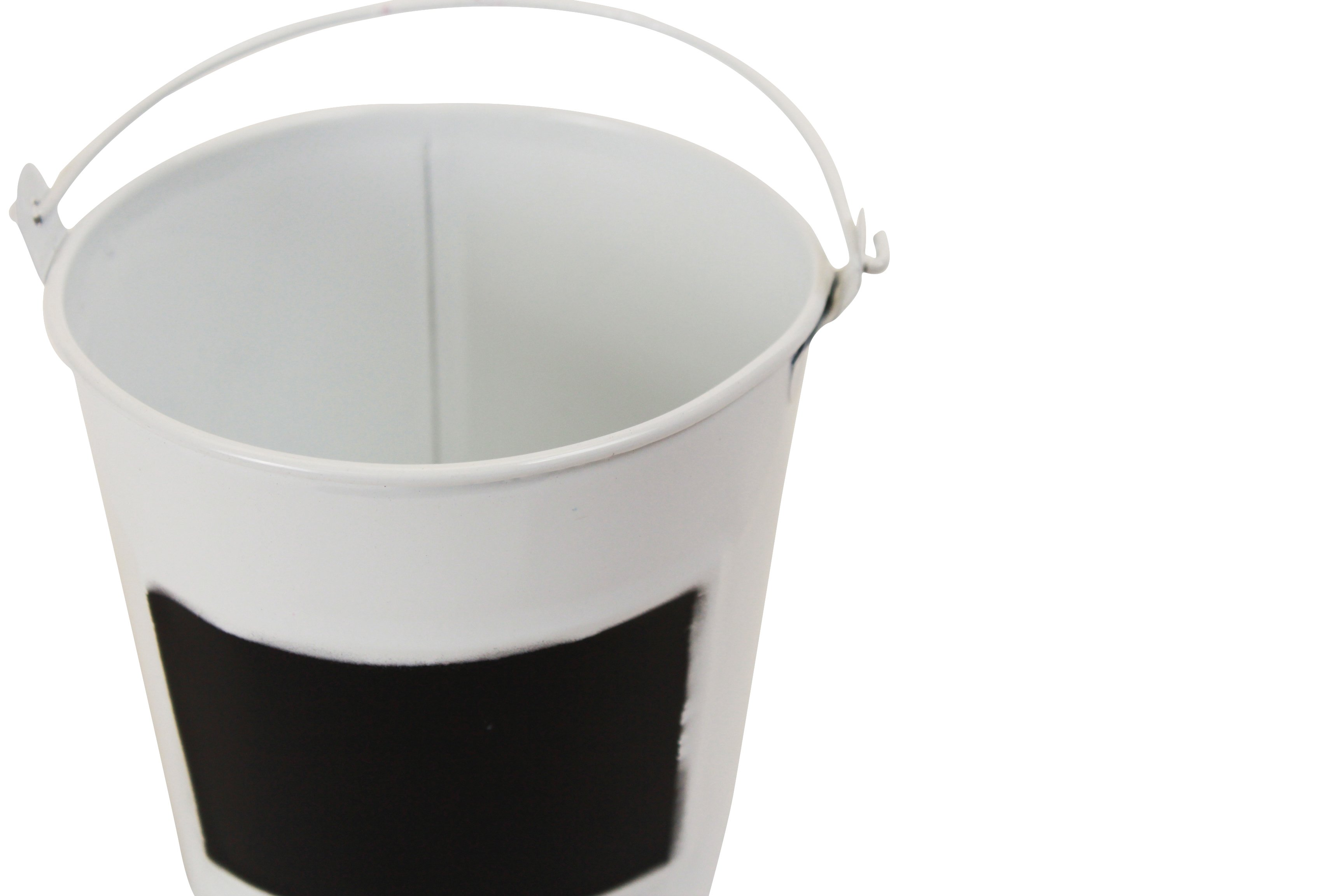 White Pail 4.5'' x 4.5''close