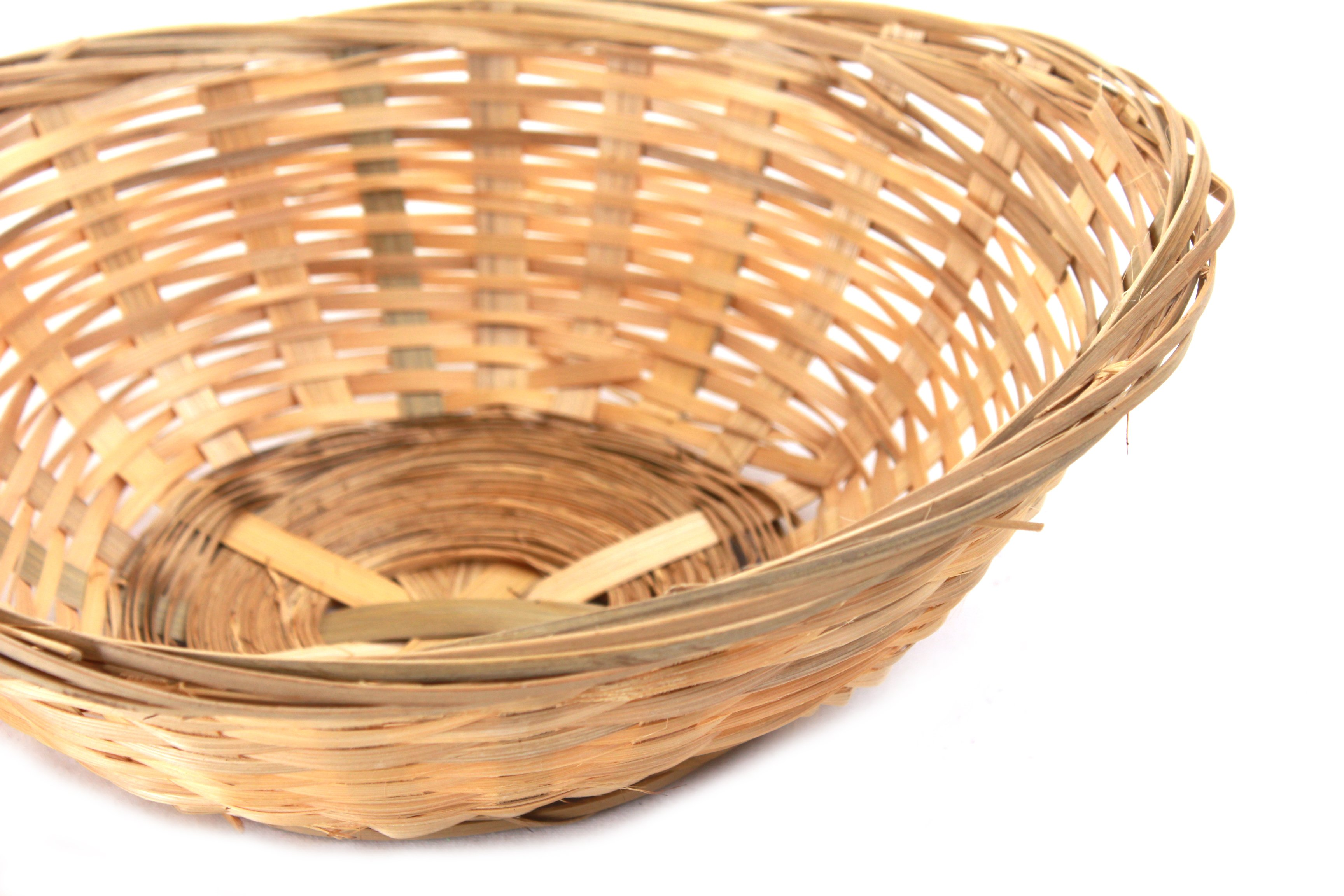 Oval Bamboo Bread Baskets close