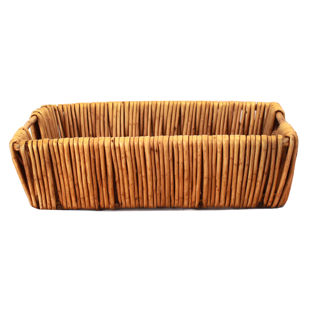 Rectangular Baskets With Handles