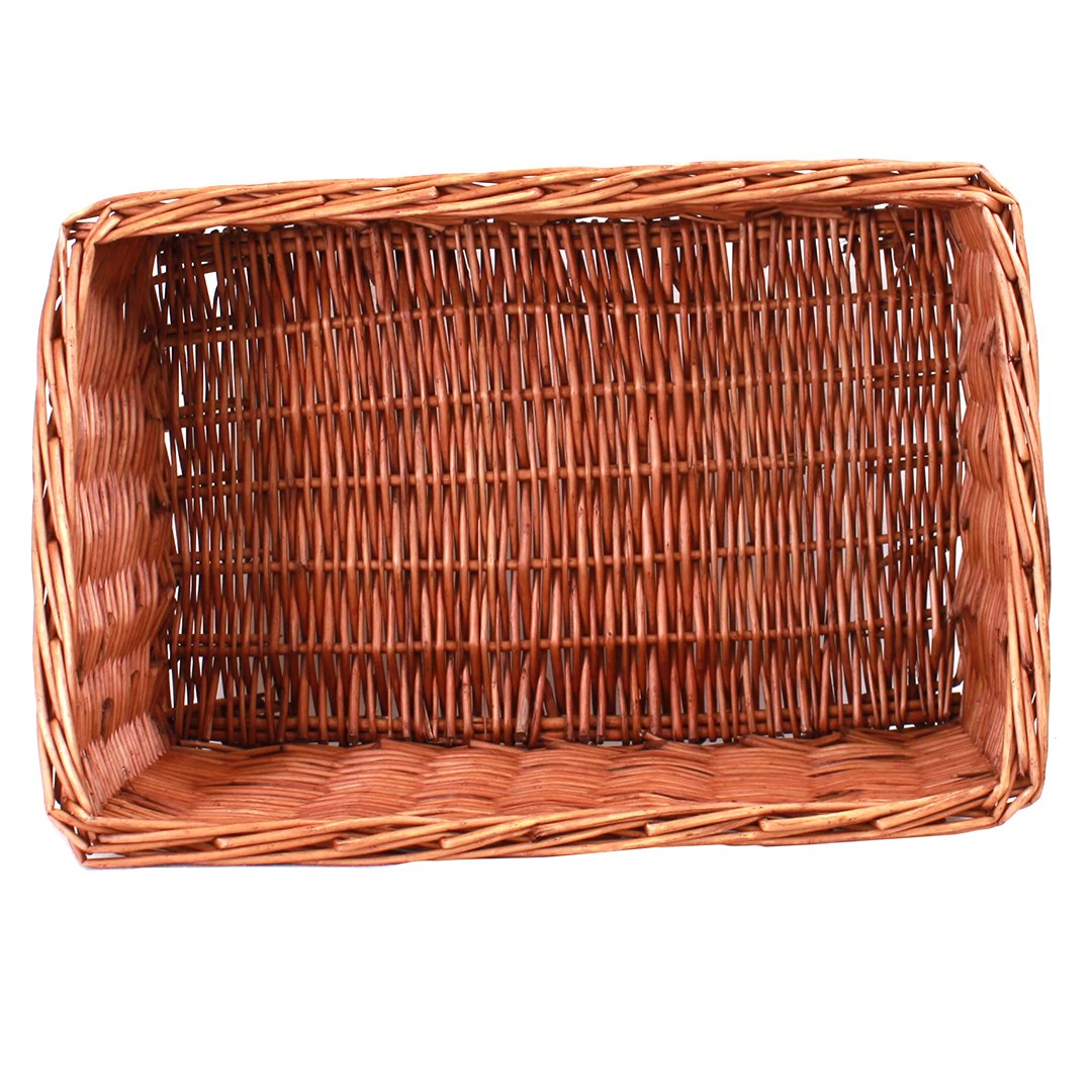 "Rectangular  Basket 19"" x 13"" x 6"" (9"") top"