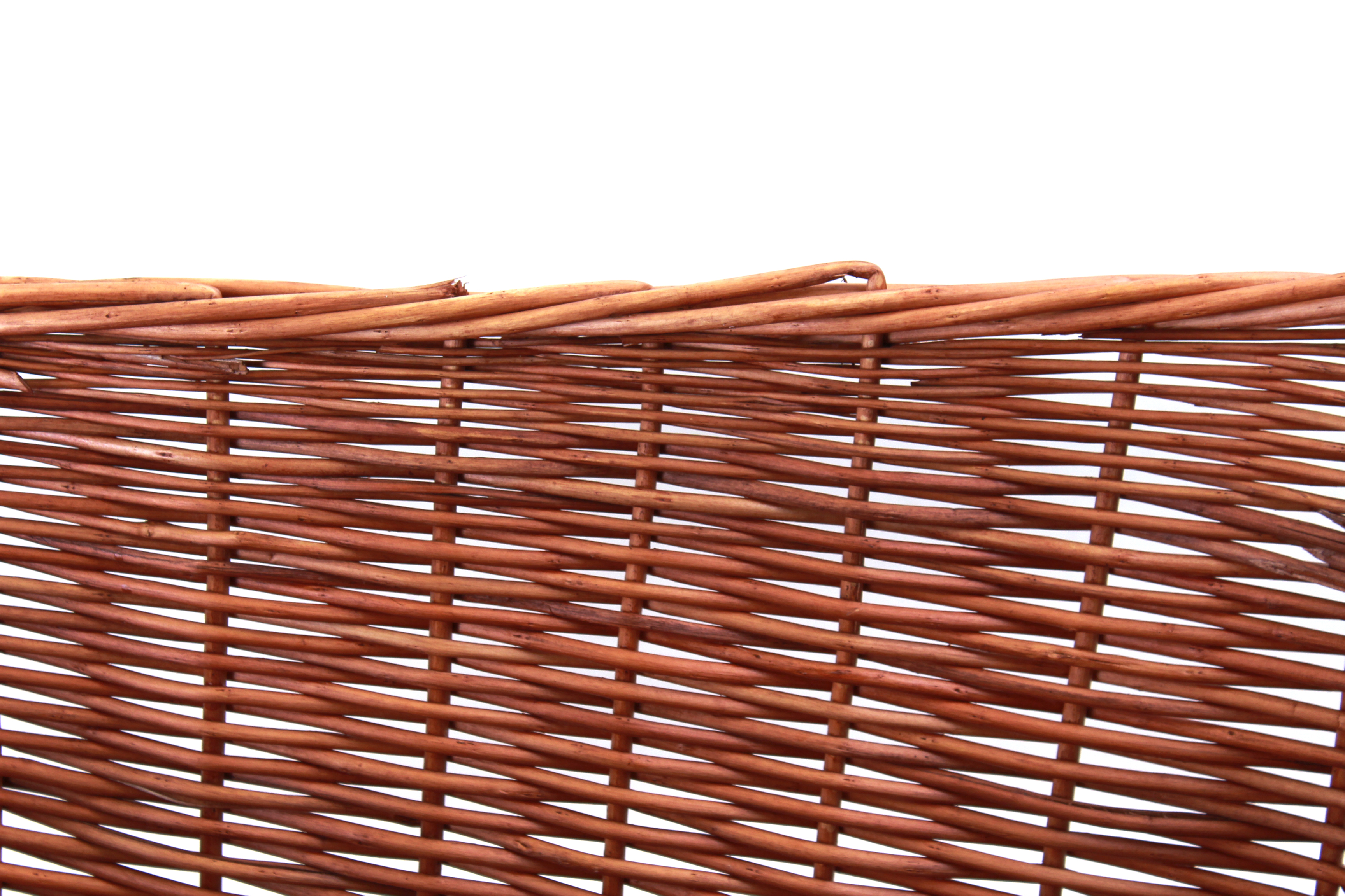 "Rectangular  Basket 19"" x 13"" x 6"" (9"") close"