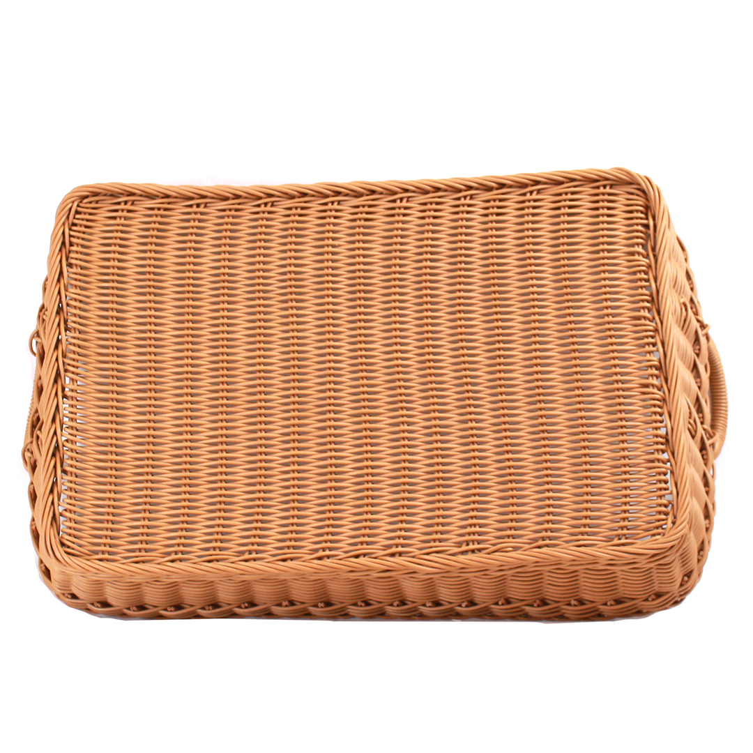 Rectangular Wicker Baskets With Handles : Buy wicker basket plastic with handles rectangular