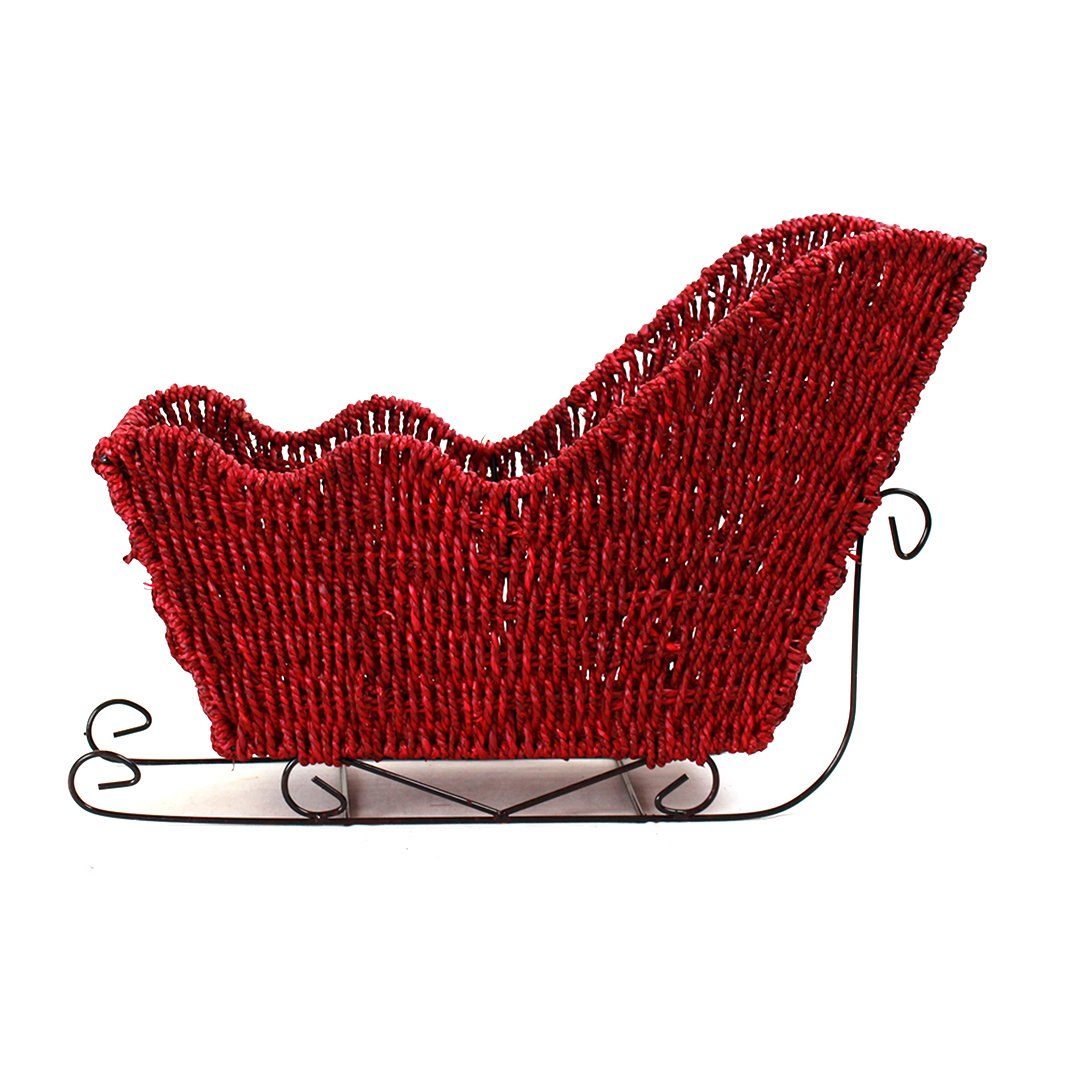 Red Seagrass Sleigh