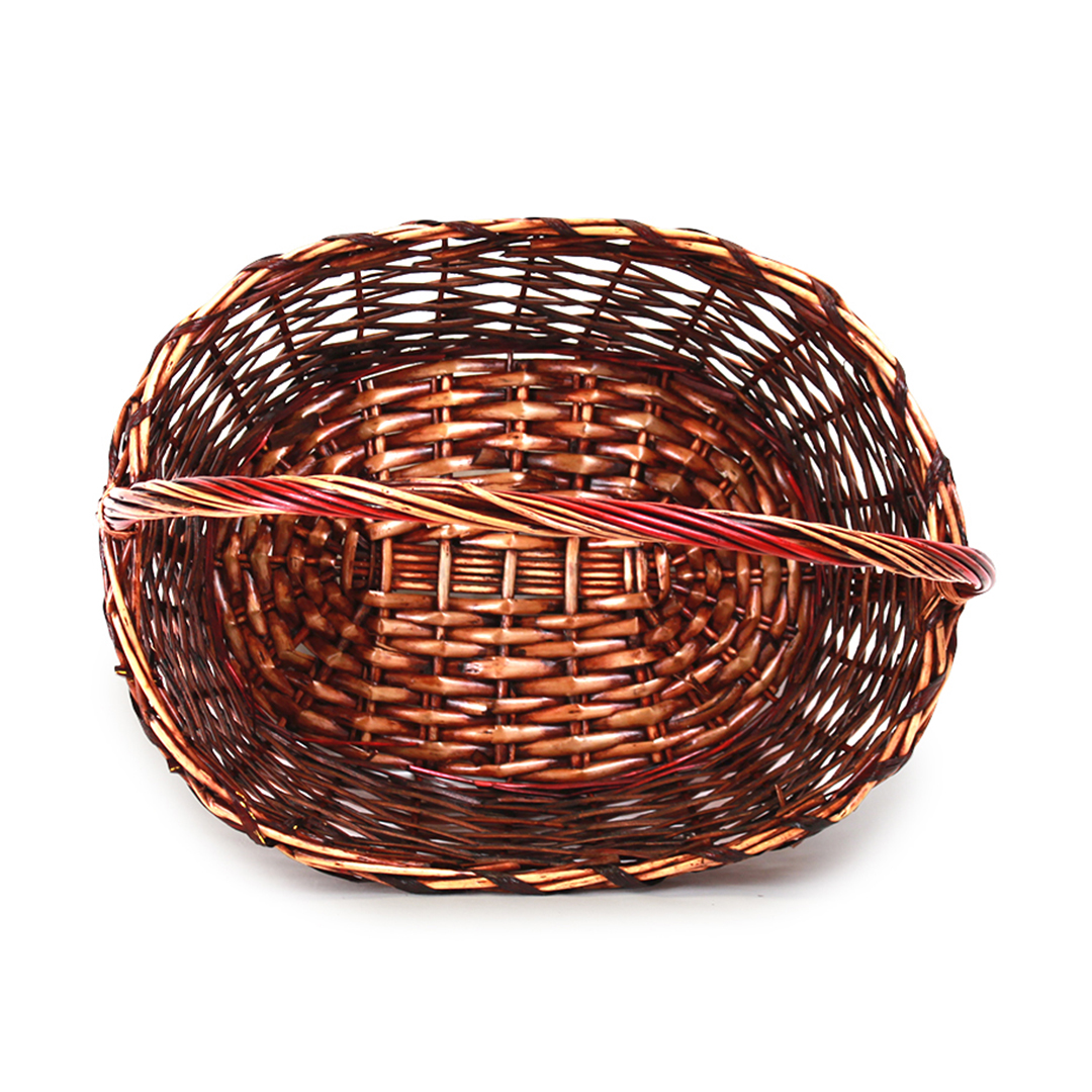 Oval Baskets With Handle top