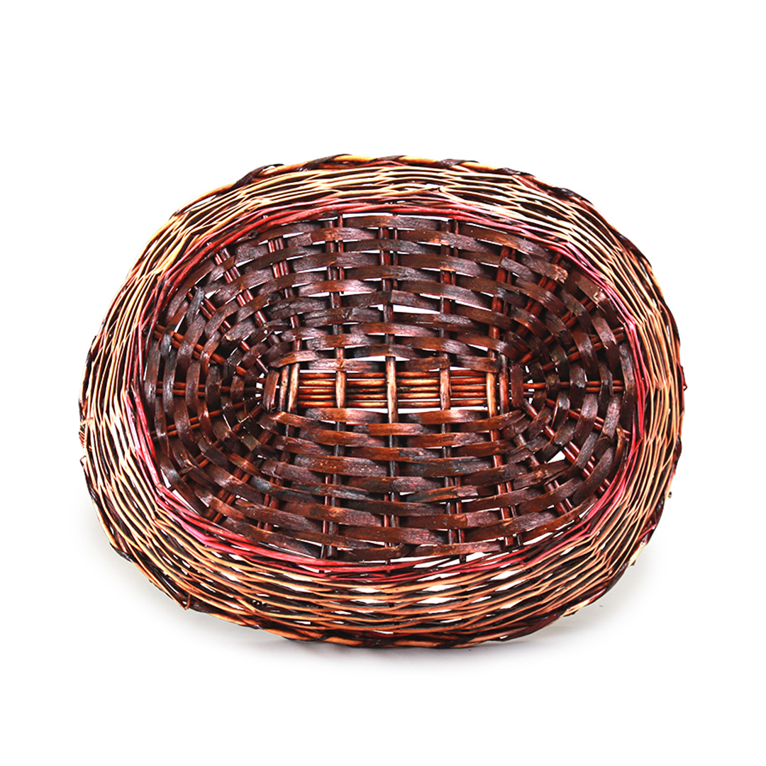 Oval Baskets With Handle bottom