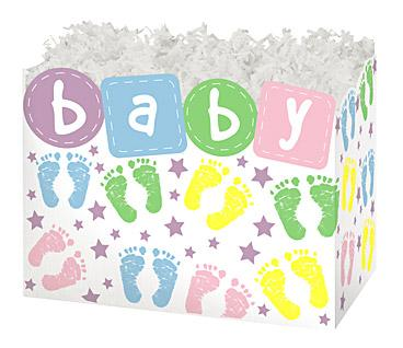 Gift Basket Boxes Baby Steps