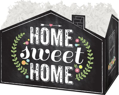 "Large Box Home Sweet Home 10¼"" x 6"" x 7½"""