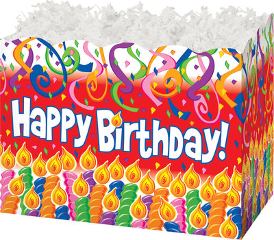Gift Basket Boxes Birthday Candles
