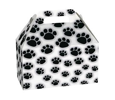 "Gable Box Paw Prints 8½"" x 5"" x 5½"""
