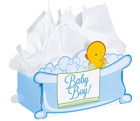 Intricut Box - Baby Boy Bubbles