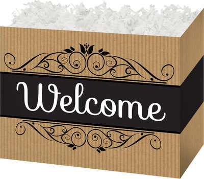 "Large Box Welcome 10¼"" x 6"" x 7½"""