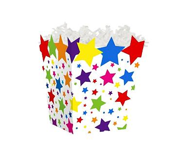 "Sweet Treat Box Super Stars 4"" x 4"" x 4½"""