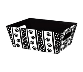 Polka Dot Paws Small Market Tray