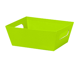"Small Market Tray Lime Green 9"" x 7"" x 3½"""