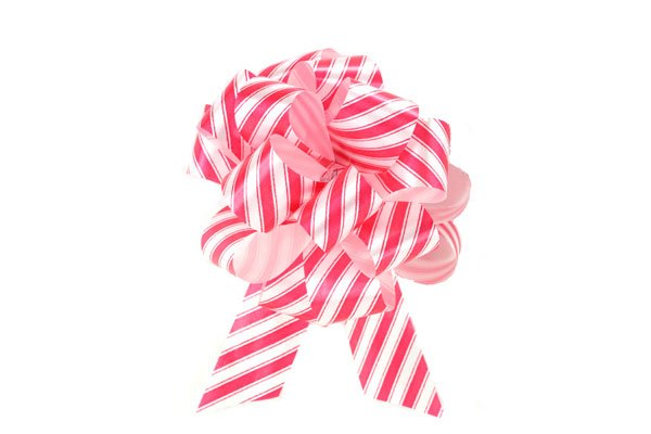 Pull Bow 8'' Peppermint
