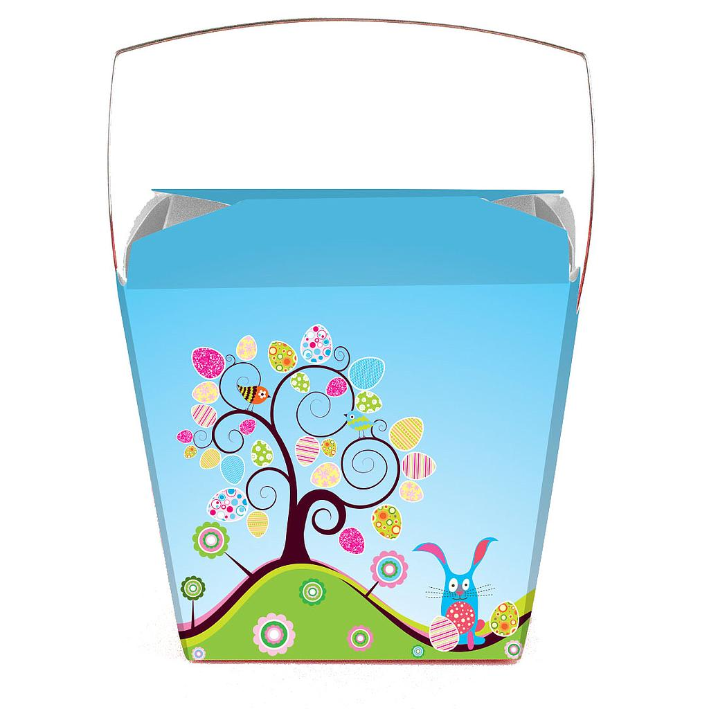 Medium Bunny Tree Pail Pack of 25
