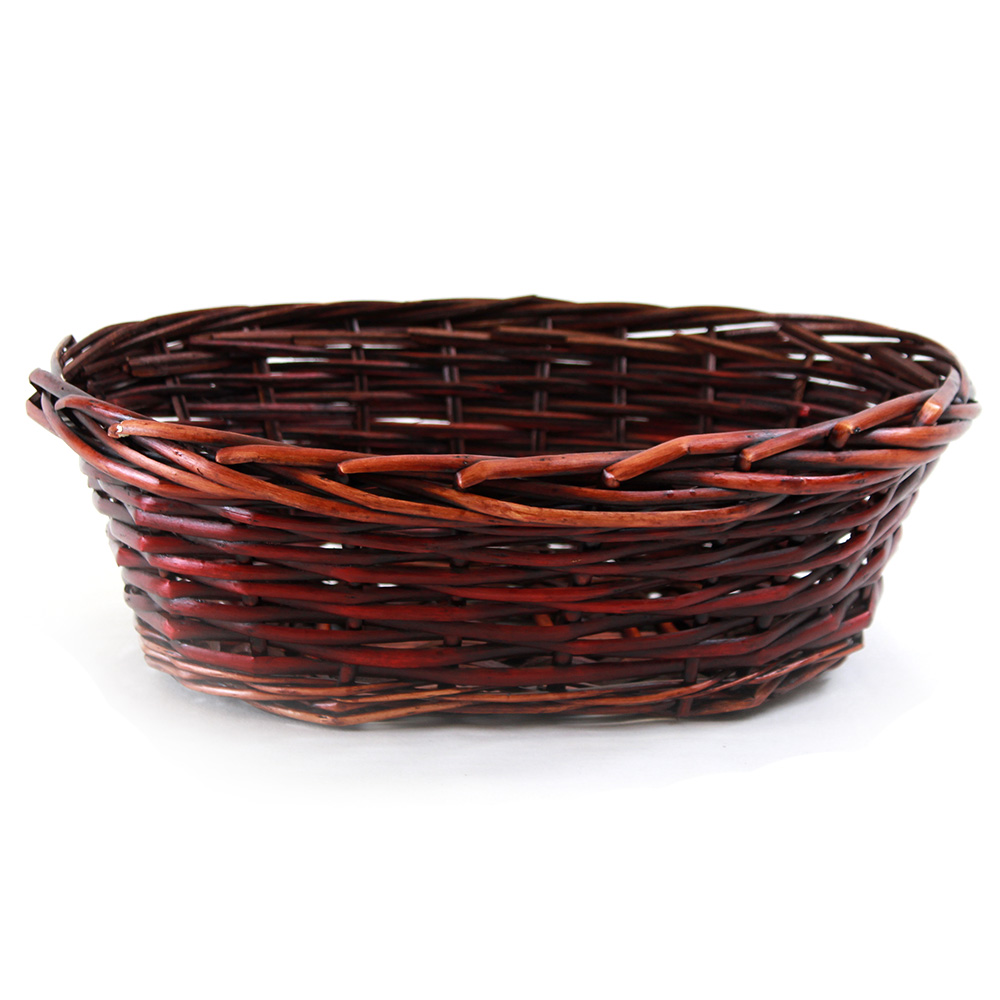 Red Oval basket 14.5'' x 11'' x 5''