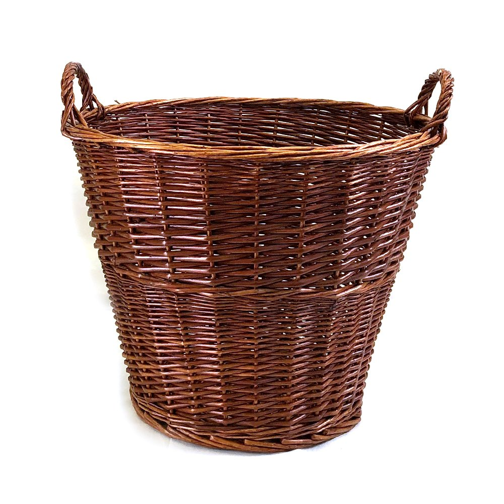 "Round Basket With Handles 19"" x 16"""