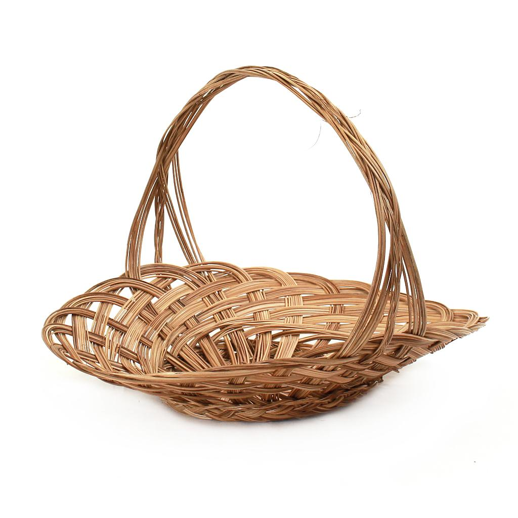 Oval Flower Baskets with Handle