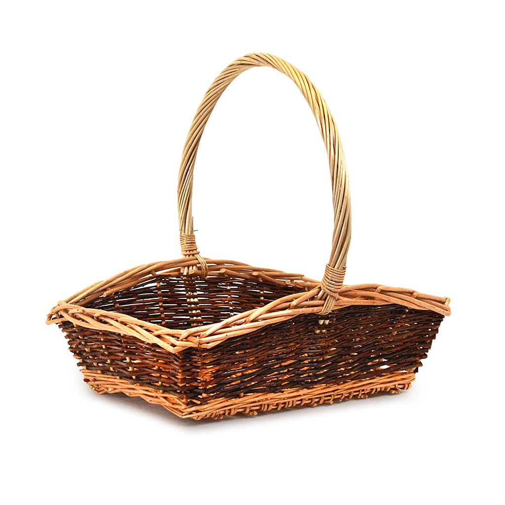 Rectangular Fruit Baskets With Handle