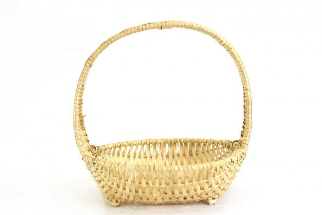 Round Fruit Baskets With Handle