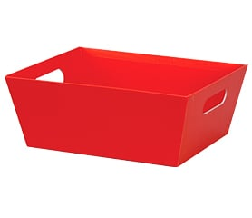 Market Trays Red