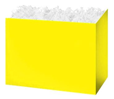 Gift Basket Boxes Yellow