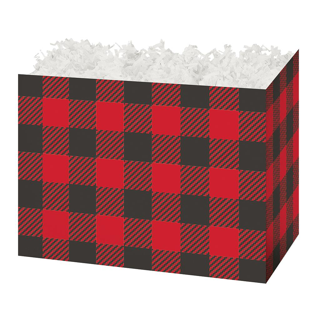 Buffalo Plaid Basket Box