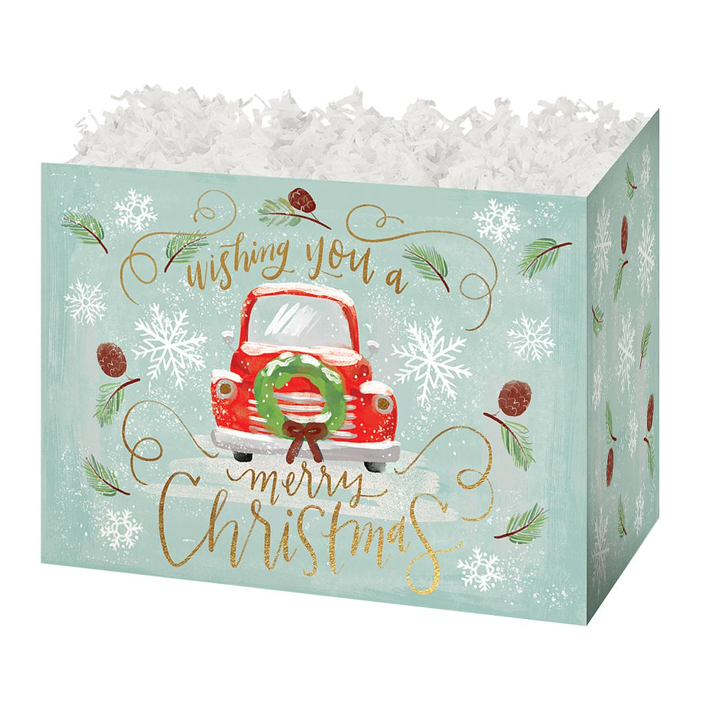 Christmas Wishes Basket Box
