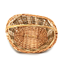 Baskets - Oval Brown Top
