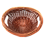 Brown Oval Baskets top