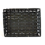 "Black Rectangular Basket 12.5"" x 9.5"" x 3"" top"