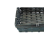 "Black Rectangular Basket 12.5"" x 9.5"" x 3"" close"