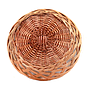 Round Lacquered Bread Baskets bottom
