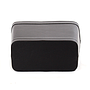 Black Faux Leather Container bottom