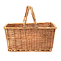 "Market Basket With Handles 16"" x 11"" x 8"" front"