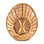Oval Bamboo Bread Baskets top