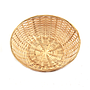 Round Bamboo Bread Baskets top